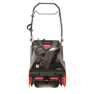 Craftsman  21 in. W 179 cc Single Stage  Electric Start  Snow Blower