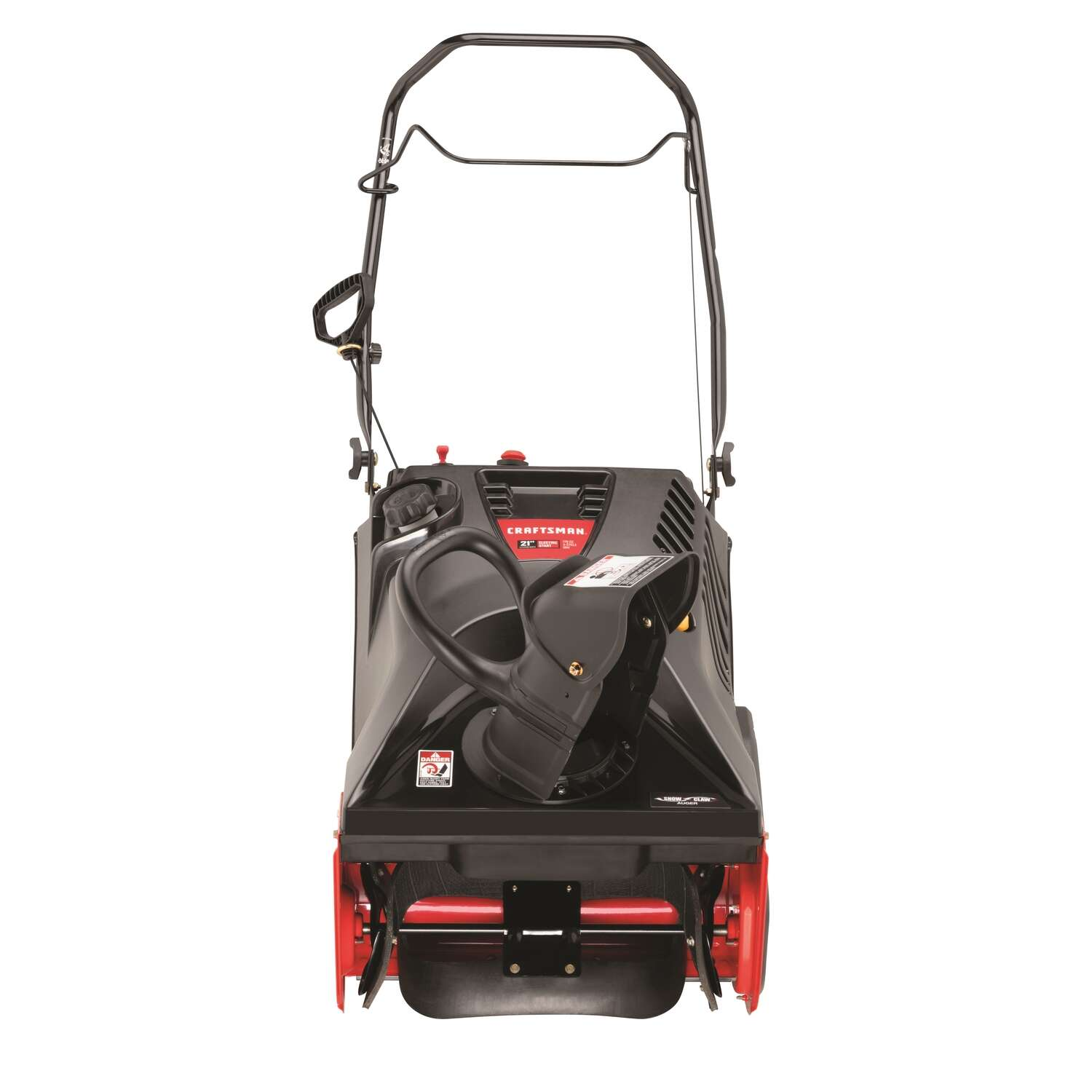 Craftsman  21 in. W 179 cc Single-Stage  Electric Start  Gas  Snow Thrower