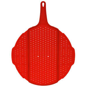 Squish  7 in. W x 18 in. L Red  Collapsible Splatter Screen