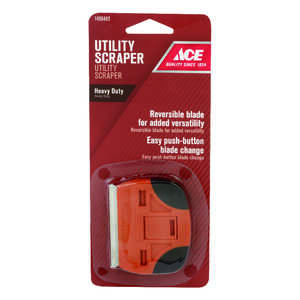 Ace  2.25 in. W Steel  Dual Edge Butterfly  Scraper