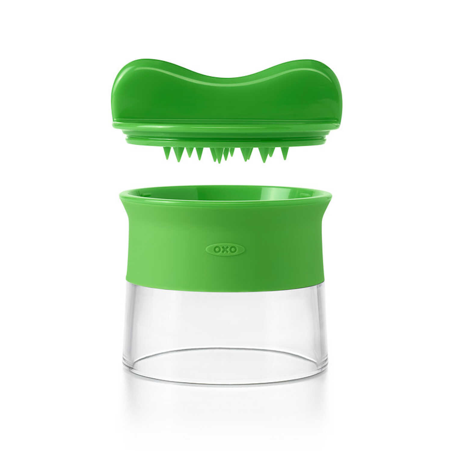 OXO  Good Grips  3 in. W x 3-1/2 in. L Green  Manual Spiralizer