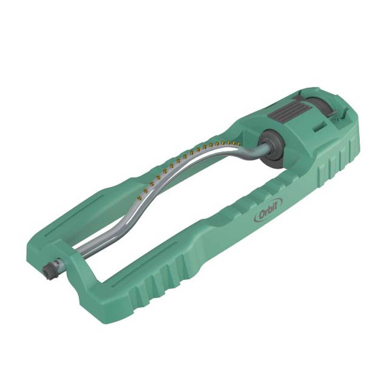 Orbit  Plastic  Non-tipping Base  Oscillating Sprinkler  3600 sq. ft.