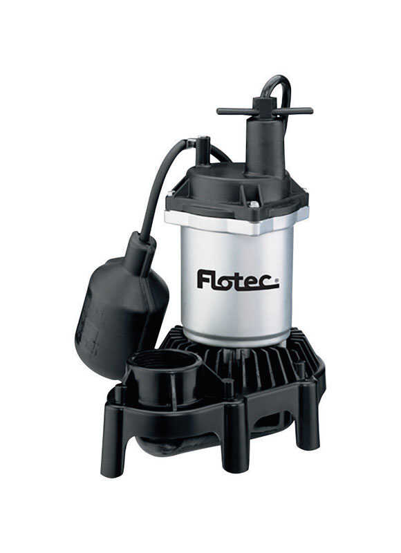 Flotec  1/4 hp 3200 gph Thermoplastic  Submersible Sump Pump