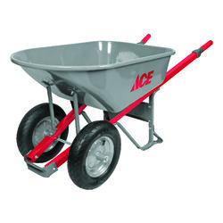 Ace  Steel  Contractor Wheelbarrow  6 cu. ft.
