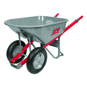 Ace  Steel  Contractor Wheelbarrow