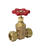 BK Products ProLine 3/4 in. Comp x Comp Brass Gate Valve Lead-Free