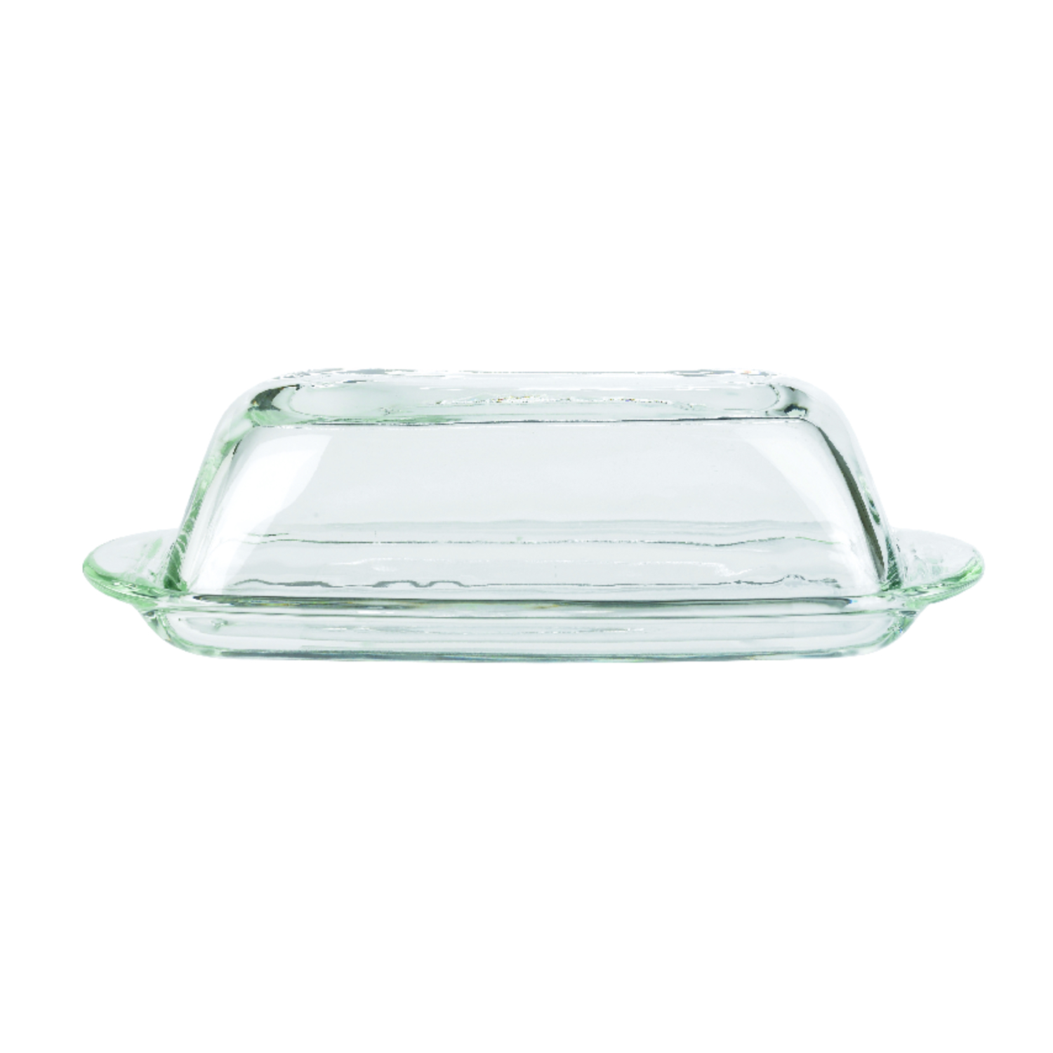 Anchor Hocking  Clear  butter dish  Glass  1 each Butter Dish