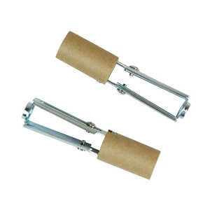 Jandorf  Phenolic  Brown Paper Liner  Adjustable 3-1/4 to 4-3/4 in. L 2 pk Socket w/Paper Lining
