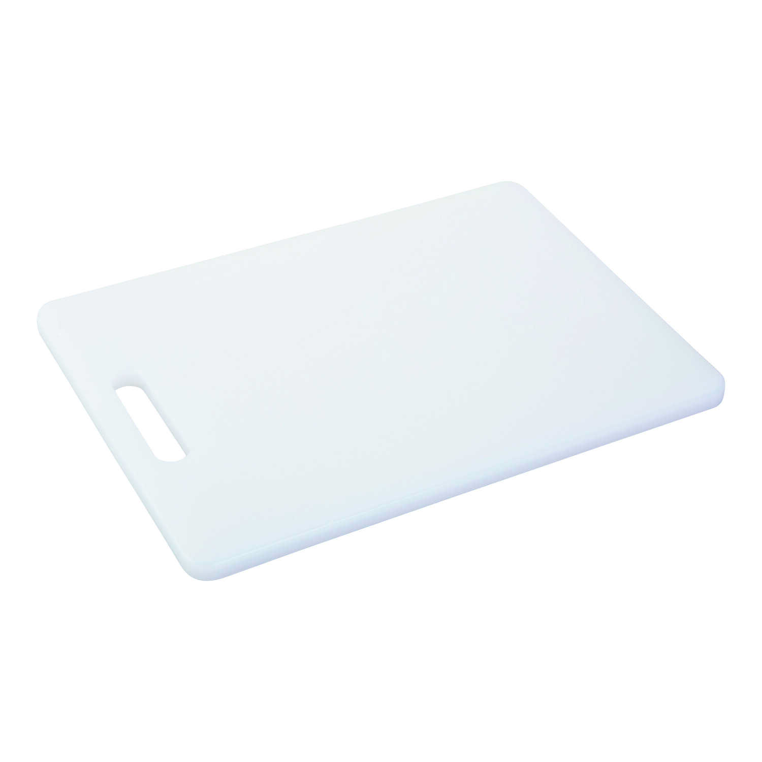 Good Cook  8 in. W x 11 in. L White  Cutting Board