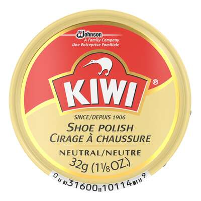 Kiwi Neutral Shoe Polish 1-1/8 oz.