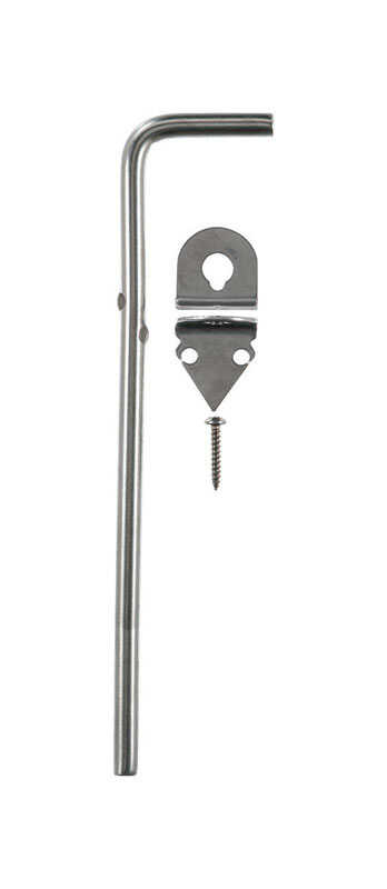Ace  1.67 in. L Stainless Steel  Cane Bolt  1 pk
