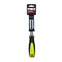 Ace  Pro Series  3/4 in. W Carbon Steel  Wood Chisel  Black/Yellow  1 pk