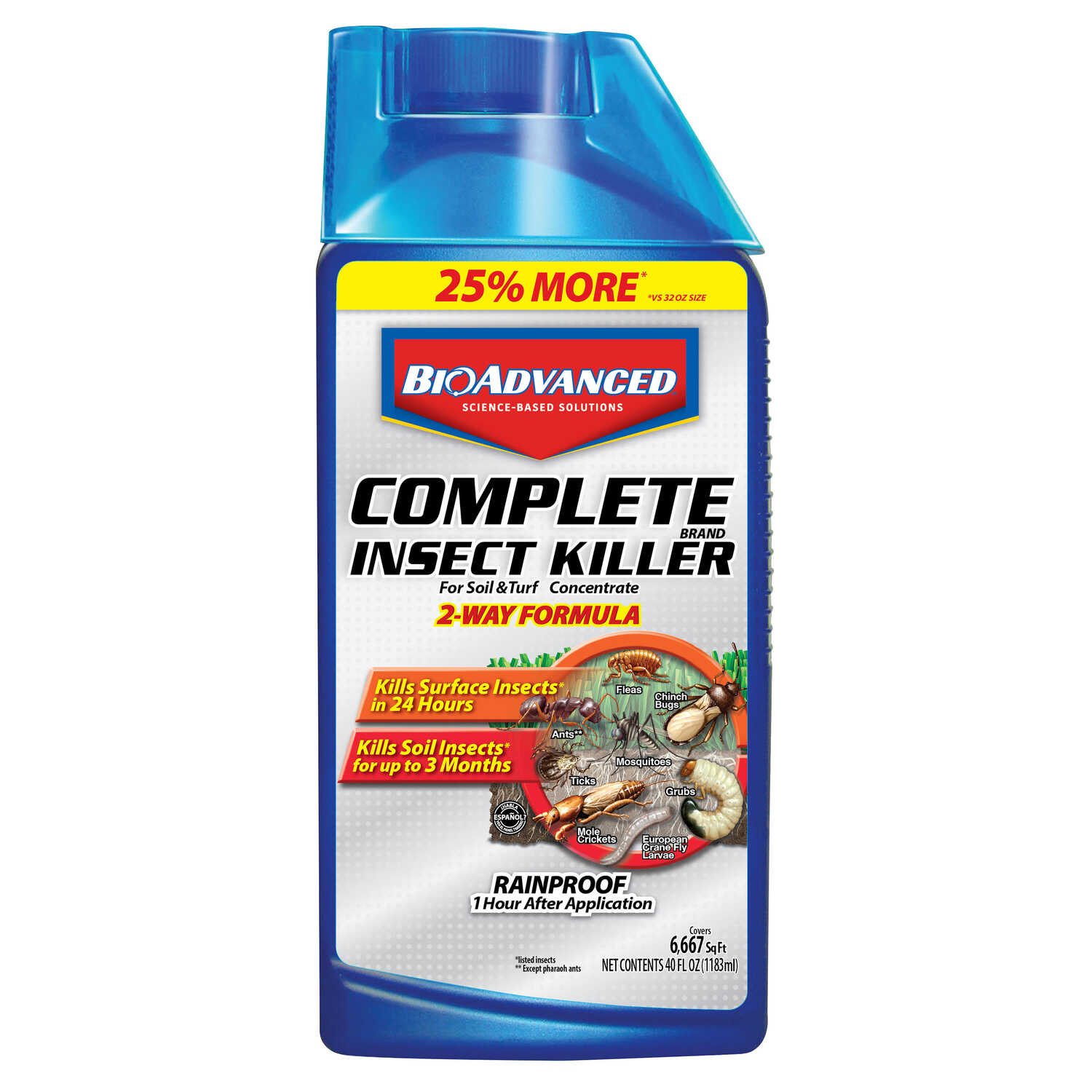BioAdvanced  Insect Killer for Lawns  40 oz.