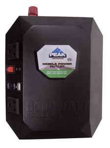 Peak  12 volt 800 watts 2 outlets Power Inverter