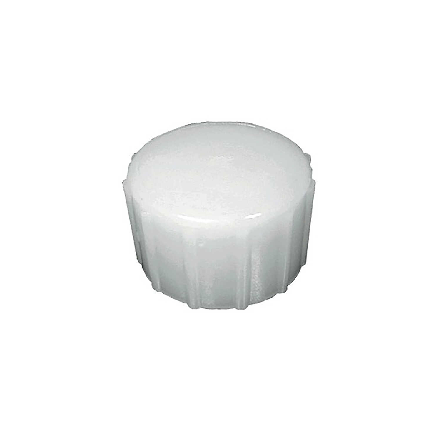 Green Leaf  Nylon  3/4 in. Dia. x 3/4 in. Dia. Hose Cap  1 pk