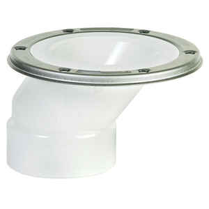 Sioux Chief  PVC  Offset Closet Flange  N/A in.