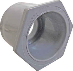 Cantex  1-1/2 X 1-1/4 in. PVC  Reducing Bushing  1 pk