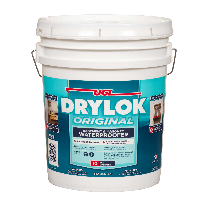 Drylok Low Gloss White Latex Waterproof Sealer 5 gal  - Ace
