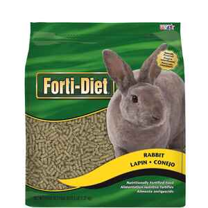 Kaytee  Forti-Diet  Natural  Pellets  Rabbit  Food  5 lb.