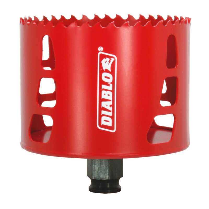 Diablo  3-1/2 in. Dia. x 2-3/8 in. L Bi-Metal  Hole Saw  1 pc.
