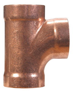 Mueller Streamline  2 in. Sweat   x 2 in. Dia. Sweat  Copper  Sanitary Tee