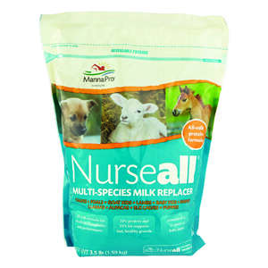 Nurseall  Solid  Nutritional Supplement  For Cattle/Horse/Goats 3.5 lb.