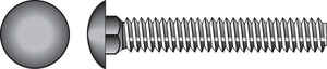 Hillman  3/8 in. Dia. x 6 in. L Hot Dipped Galvanized  Steel  Carriage Bolt  50 pk