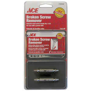 Ace  No. 4-10   Steel  Screw Remover  2 pc.