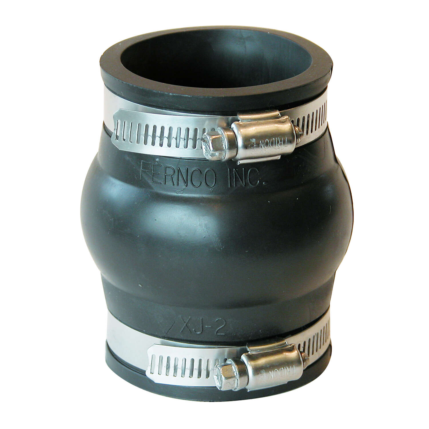 Fernco  Schedule 40  2 in. Hub   x 2 in. Dia. Hub  PVC  Expansion Coupling