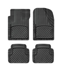 WeatherTech  Trim-To-Fit  Black  Thermoplastic Elastomer  Auto Floor Mats  4 pk