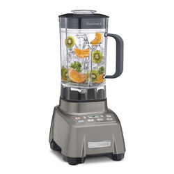 Cuisinart  Hurricane  Gray  Metal/Plastic  Blender  60 oz. 3 speed