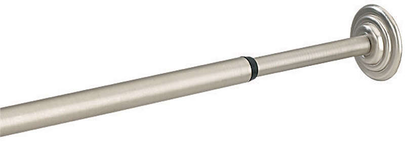 Umbra  Satin Nickel  Silver  Tension Rod  24 in. L x 36 in. L
