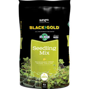 Black Gold  Organic Seedling Mix  16