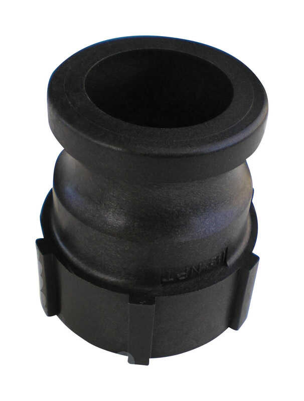 Pacer  Polypropylene  Female Adapter  1-1/2 in. Dia. x 1-1/2 in. Dia. Black  1 pk