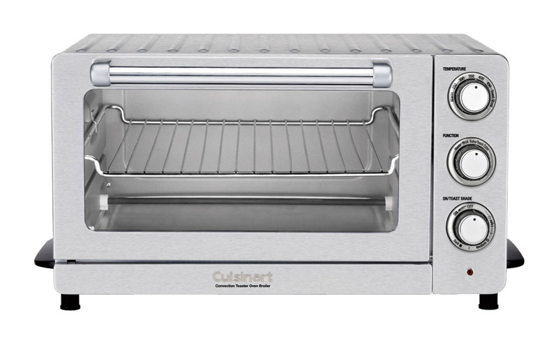 Cuisinart  Silver  Convection Toaster Oven  9.8 in. H x 15.5 in. W x 19.1 in. L