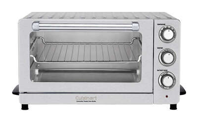 Cuisinart  Silver  Convection Toaster Oven  9.8 in. H x 19.1 in. W x 15.5 in. D