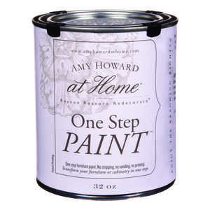 Amy Howard at Home  Flat Chalky Finish  Linen  One Step Paint  32 oz. Latex