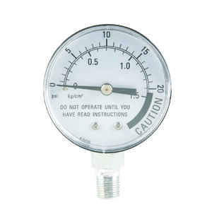 Presto  Stainless Steel  Pressure Steam Gauge