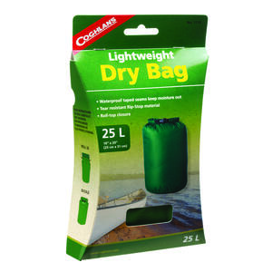 Coghlan's  Dry Bag  Green  Storage Bags  8.000 in. H x 10 in. W x 20 in. L 1 pk