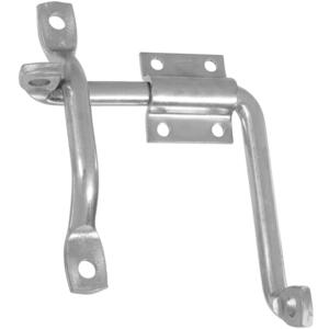 National Hardware  Zinc-Plated  Silver  Steel  Slide-Action  Door/Gate Latch