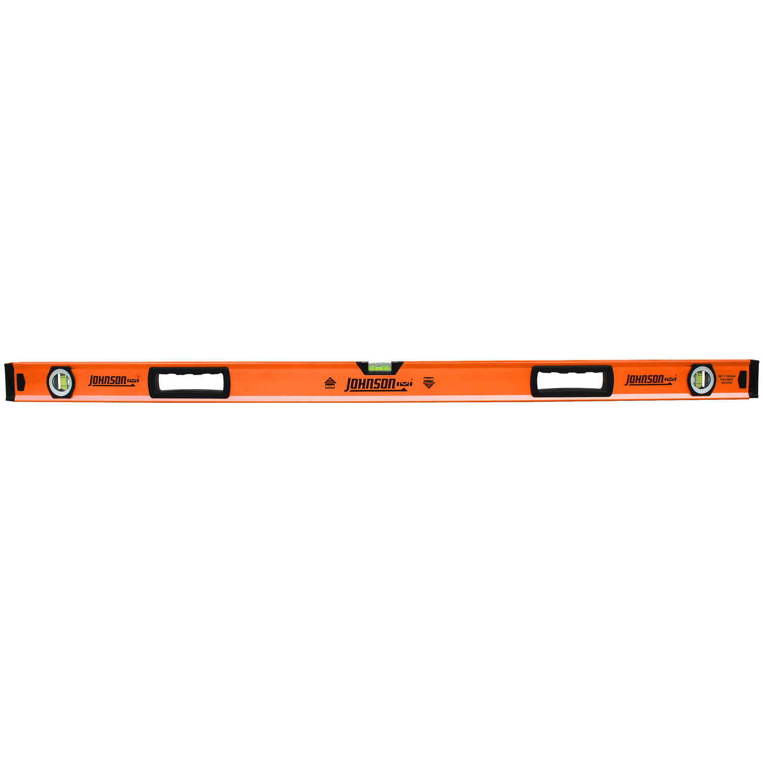 Johnson  48 in. Aluminum  Box Beam  Level  3