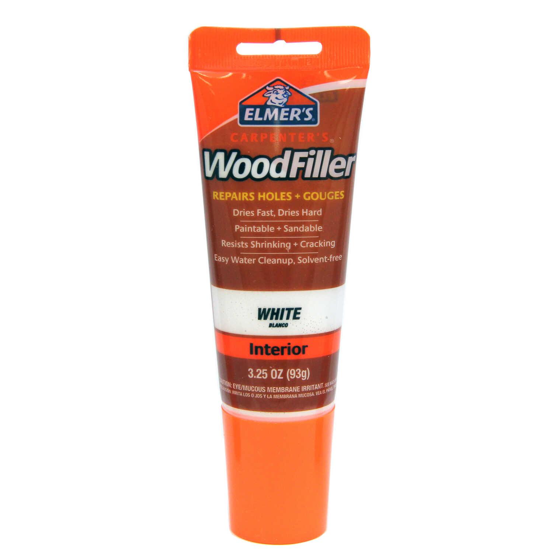 Elmer S Carpenter S White Wood Filler 3 25 Oz Ace Hardware