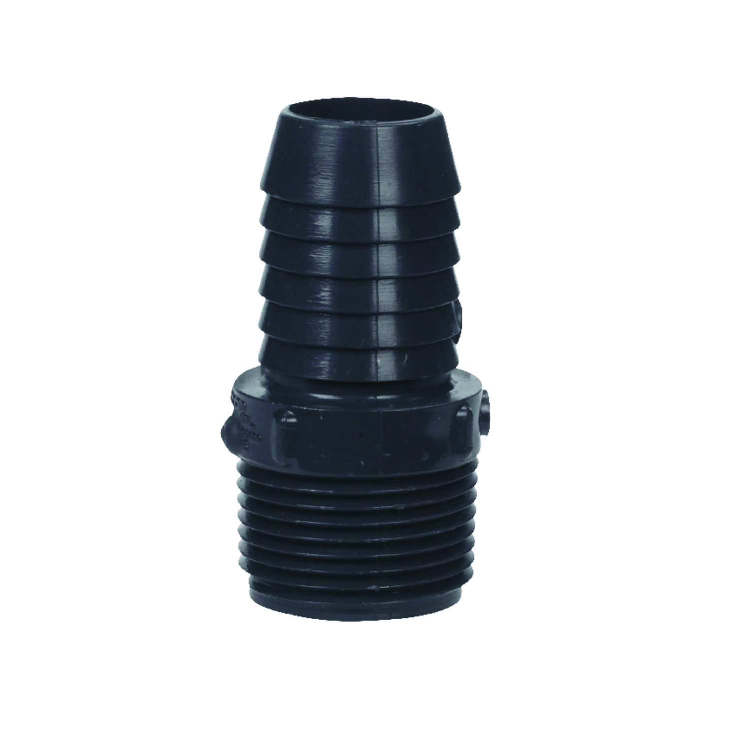 Lasco  1 in. Insert   x 1 in. Dia. MPT  Insert Adapter