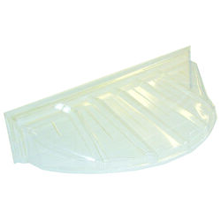 Maccourt 44.24 in. W x 18 in. D Plastic Type E Window Well Cover