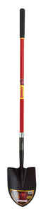 Razor-Back  Steel  9-1/2 in. W x 59.25 in. L Round Point  Shovel  Fiberglass