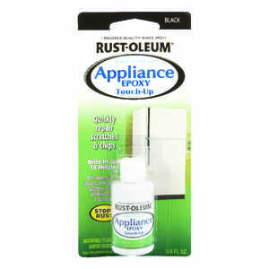 Rust-Oleum  Black  0.6 oz. Appliance Touch-Up Paint