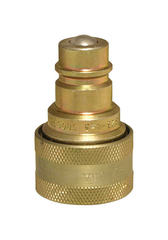 Universal  Brass  Hydraulic Adapter  1