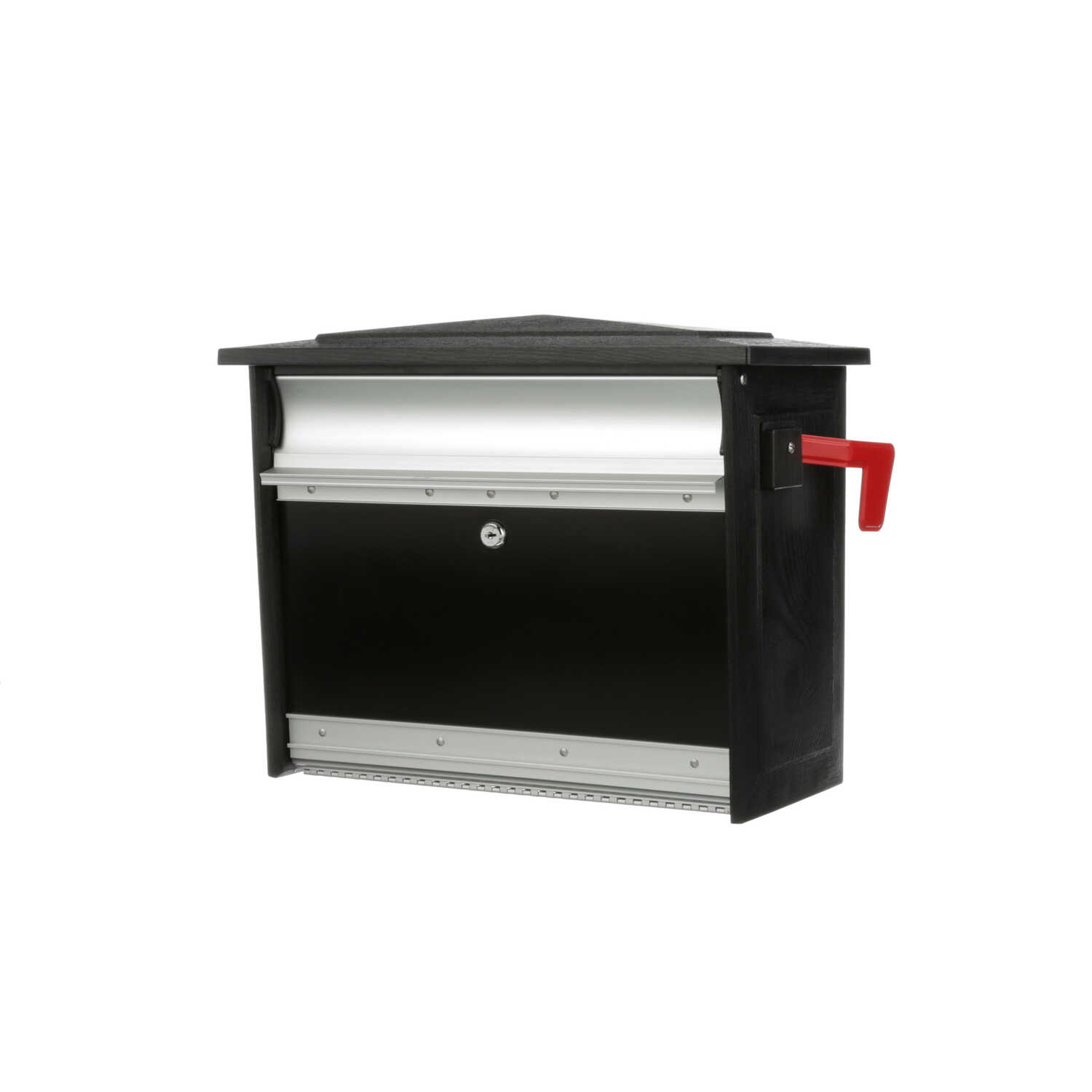 Gibraltar Mailboxes  Steel  Wall-Mounted  Mailsafe  Lockable Mailbox  16-7/8 in. L x 8-1/2 in. W x 1