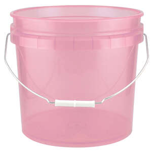 Leaktite  Red  3-1/2 gal. Bucket  Plastic