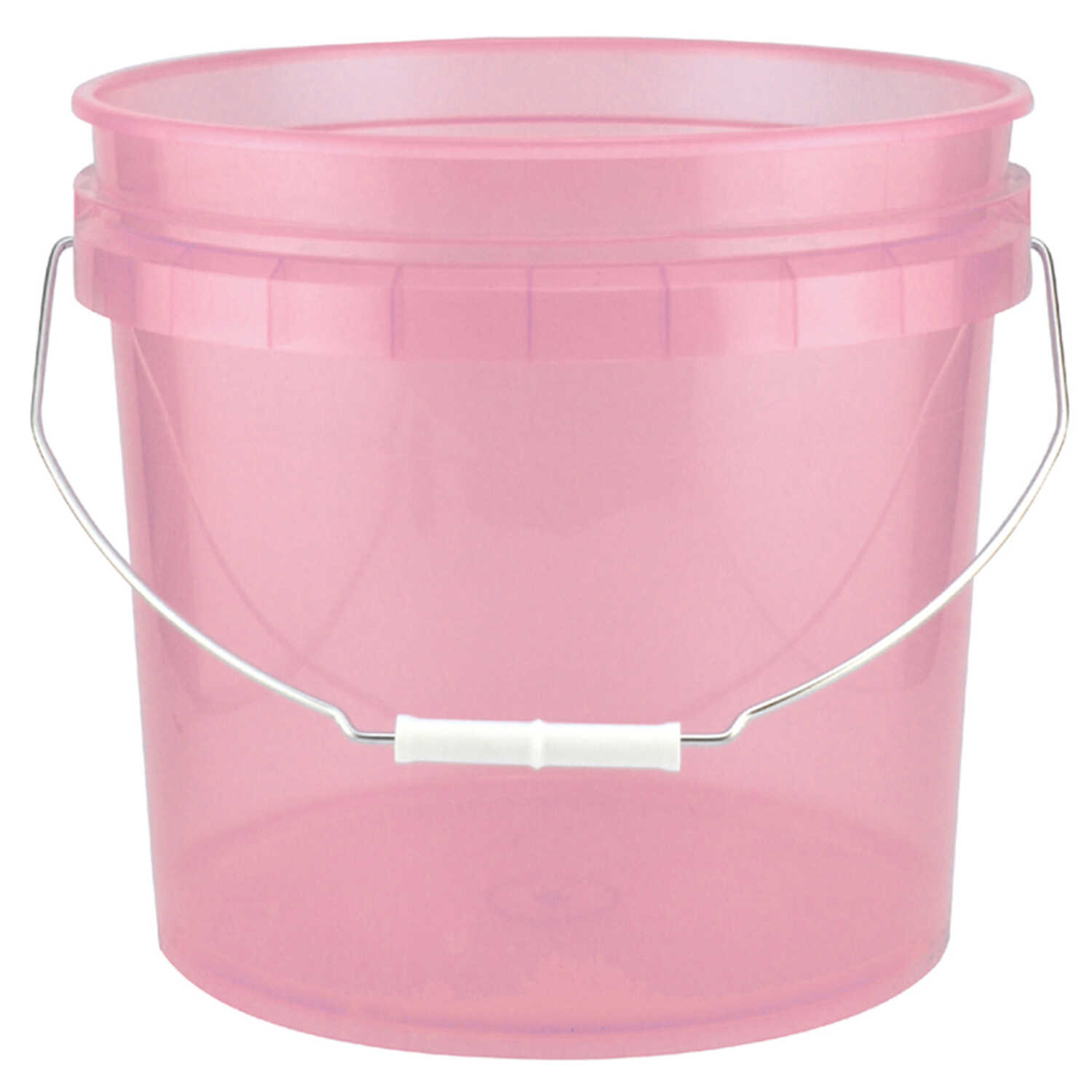 Leaktite  Red  3.5 gal. Plastic  Bucket